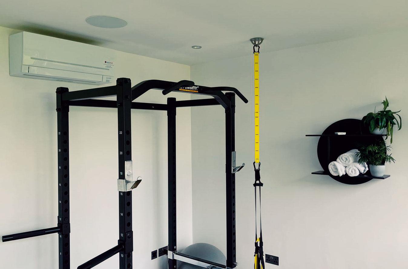 Sparta Mech air con at a gym