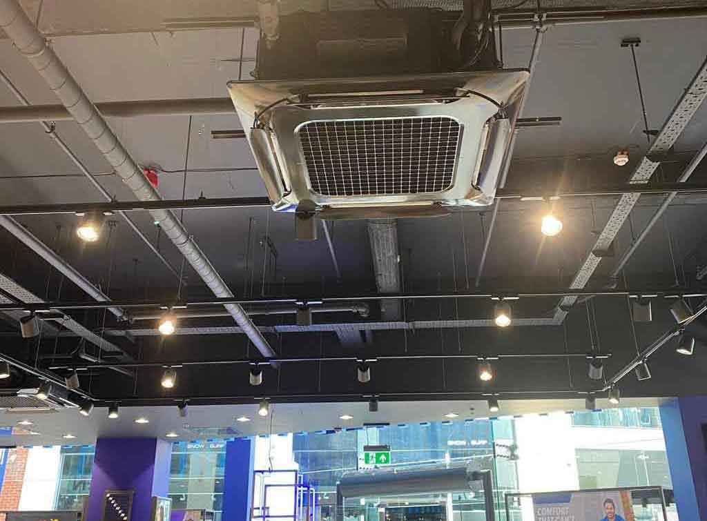 Cassette ceiling air conditioning unit