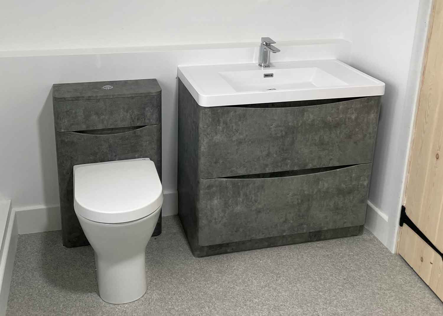 Sparta Mech plumbing - sink and toilet