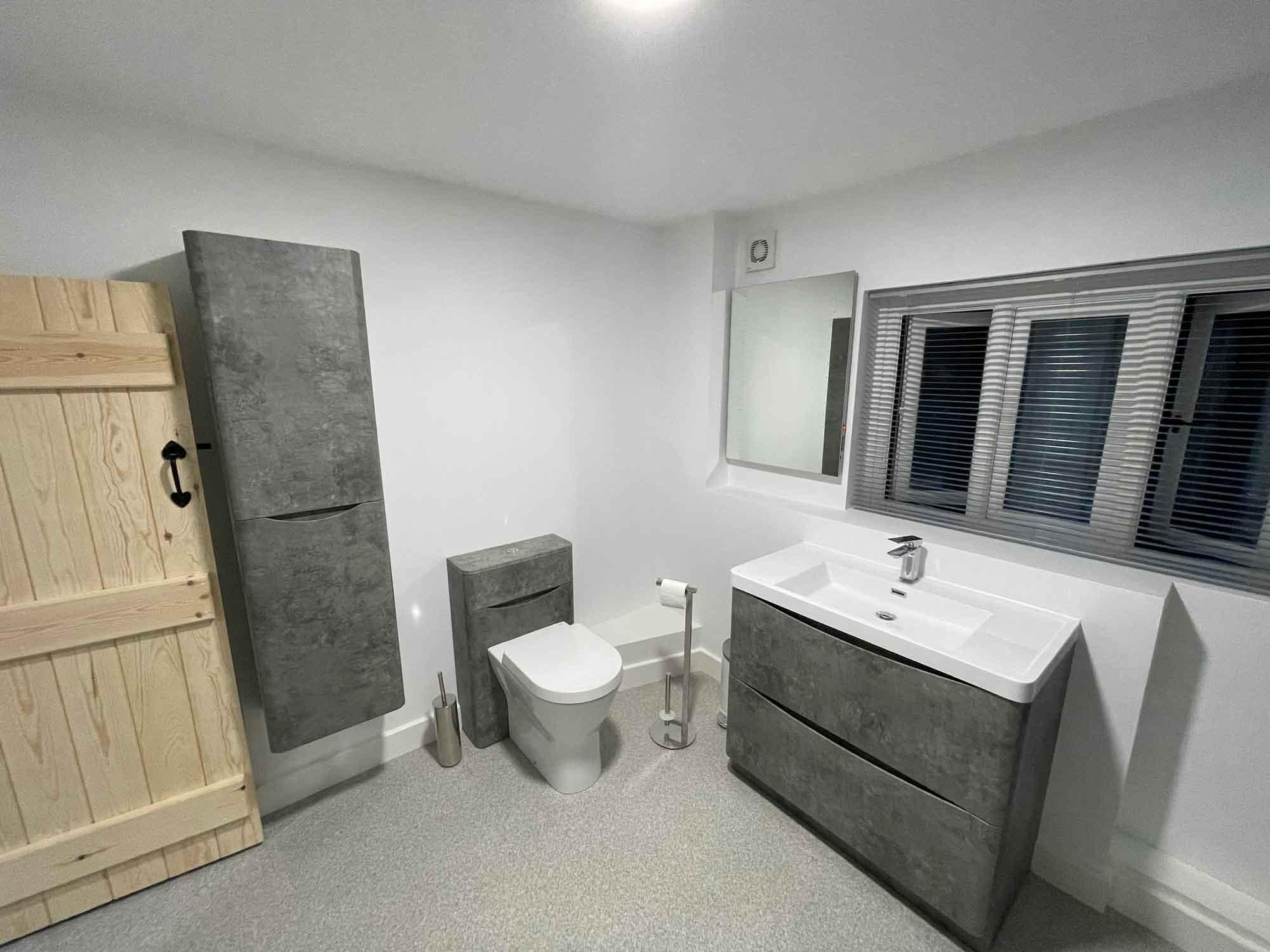 Sparta Mech plumbing - bathroom