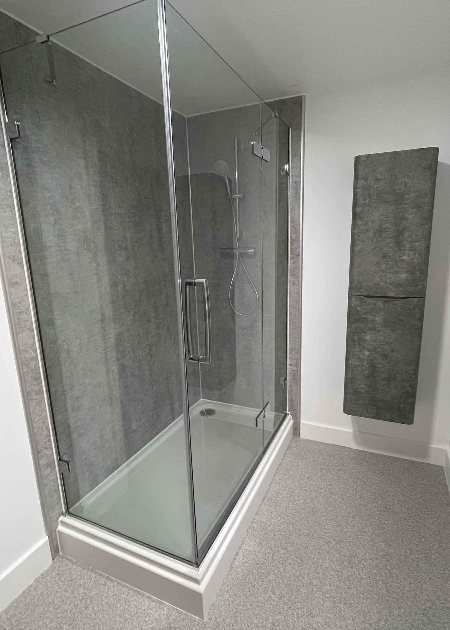 Sparta Mech plumbing - shower